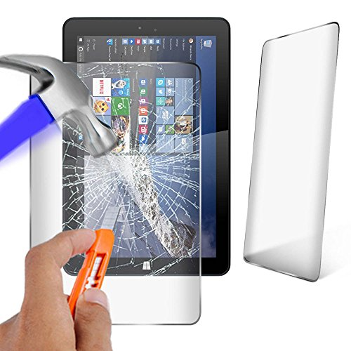 Theoutlettablet Protector Cristal Templado Universal Compatible con Tablet Woxter SX110 10.1'