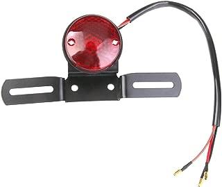 generic custom motorcycle motor brake tail rear light plate holder for harley dc 12v