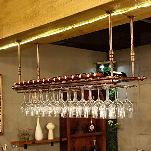 BGHDIDDDDD Novedad Estante para Vino Estantes para Vino Estante Organizador de Vino Estante para Vino Colgador para Colgar Estante para Copas de Vino Portavasos Al Revés Portavasos para Botellas de V