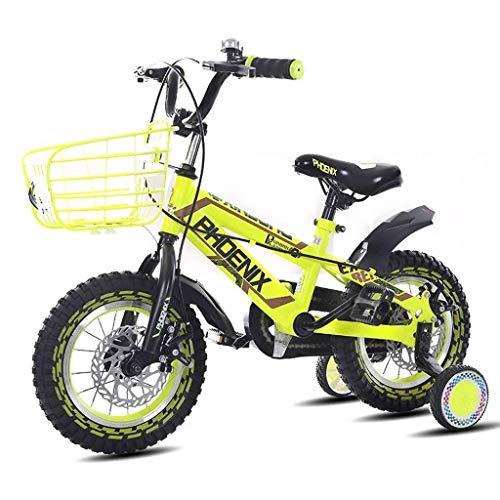 Jue Niños Bicicleta Niño Niña de Bicicletas 3-4-5-6-7 Años de Edad niños Bicicleta