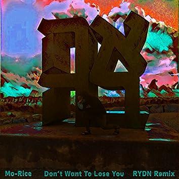 Don't Want to Lose You (feat. Daniel Prophete)