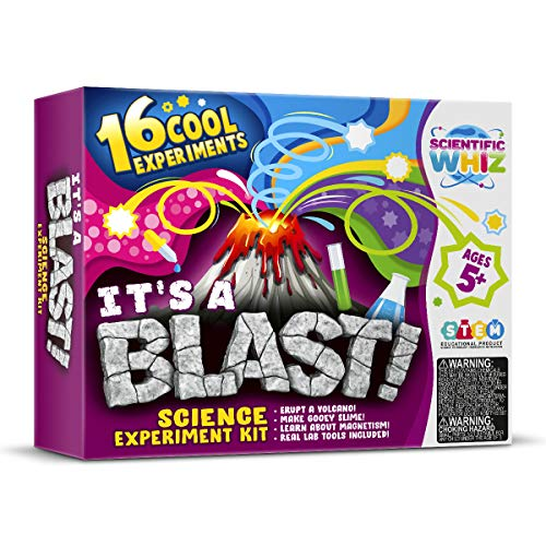 SCIENTIFIC WHIZ Science Kit for Kids- 23 Exciting Chemistry Experiments