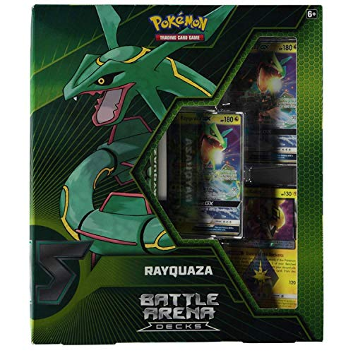 Pokémon POK80474 TCG: Battle Arena Decks-Rayquaza vs. Ultra Necrozma-GX, varios colores , color/modelo surtido