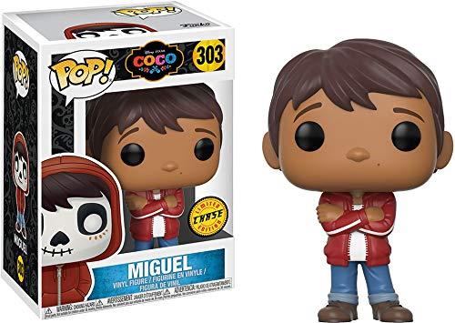 Disney Pixar Coco Funko Pop! Miguel CHASE # 303 + Pop Protector