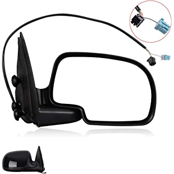 TUPARTS Fit for 2003-2007 Chevy GMC Silverado Sierra Classic Models 2500 HD Classic with Power Adjustment Manual Folding Side View Mirror Right Side Passenger Side Mirror