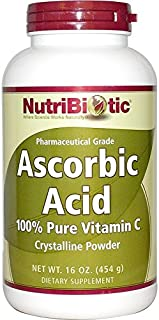 NutriBiotic, Ascorbic Acid, Crystalline Powder, 16 oz (454 g)