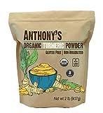 Anthony's Organic Turmeric Root Powder, 2 lb, Curcumin Powder, Gluten...