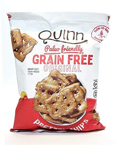 Quinn, Chips Pretzel Grain Free Paleo Gluten Free, 5.5 Ounce