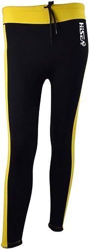 JESSIEKERVIN YY3 La Chaleur de Pantalons de néoprène de Tissu de néoprène des Femmes 2.5mm de Long Pantalon Chaud