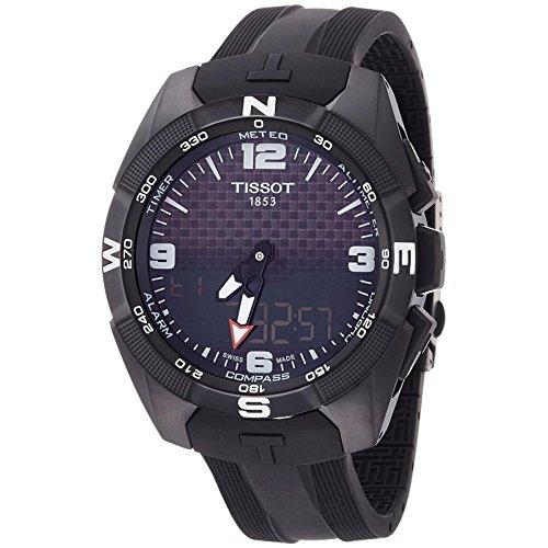 Tissot Men's T-Touch T091.420.47.057.01 Black Rubber Swiss Multifunction Sport Watch