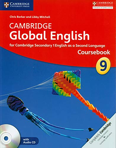 Cambridge Global English Stage 9 Coursebook with Audio CD: for Cambridge Secondary 1 English as a Second Language [Lingua inglese]
