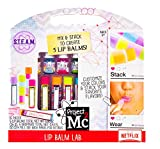 Project Mc2 Create Your Own Lip Balm Lab by Horizon Group USA, DIY STEM Science Kit, Mix & Make Your Own 5 Flavored Lip balms