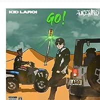 キッドLAROIジュースWRLDGOミュージックアルバムカバーポスターアートキャンバスホームルームウォールプリントデコレーションキャンバスにプリント60x60cmフレームなし