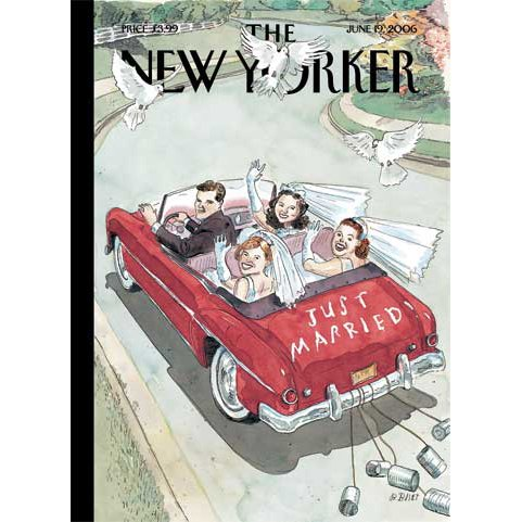 The New Yorker (June 19, 2006) cover art