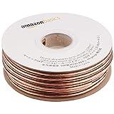 Amazonベーシック スピーカーワイヤ 14ゲージ 約30.5m 5本パック