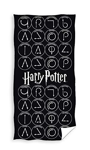 TEXTIL TARRAGO Toalla de Playa Harry Potter 70x140 cm 100% Algodon HP191052