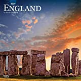 England 2020 12 x 12 Inch Monthly Square Wall Calendar, UK United Kingdom Scenic (English, Spanish and French Edition)
