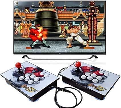 King Bomb Pandora's Box 6S Séparation Type Console de Jeu 2200 en 1, Console Double 1280 * 720, Wood Arcade HD, Perso...