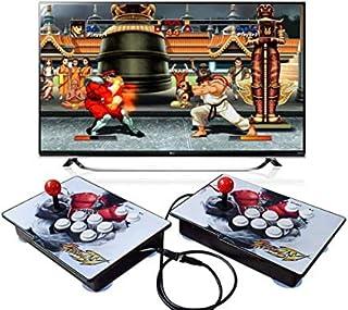 King Bomb Tipo de separacion Pandora's Box 6S, 2200 en 1 Consola de Juegos, 1280 * 720 Doble Consola HD Arcade de Madera, ...