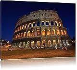 Colosseum in Rom Italien Italy 100x70cm Bild auf Leinwand,