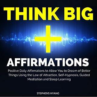 Think Big Affirmations cover art