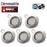 Spots LED Encastrables Dimmable GU10 Kimjo, 6W Blanc Neutre 4000K 550LM 82Ra Spot...