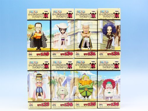 One Piece World Collectable Figure Vol.16 (set of 8)