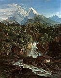 Kunstdruck Der Watzmann Ludwig Richter Berge Alpen