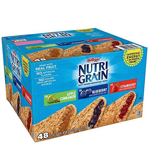 Nutri-Grain-Kellogg's Cereal Bars Variety Pack, 48-Count