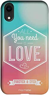 Macmerise IPCIXRPMI0030 All You Need is Love - Pro Case for iPhone XR - Multicolor (Pack of1)