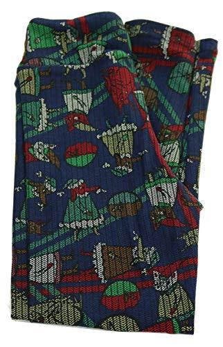 Lularoe Mystery Print - Kids Leggings Large/X-Large (8-14) (Christmas)