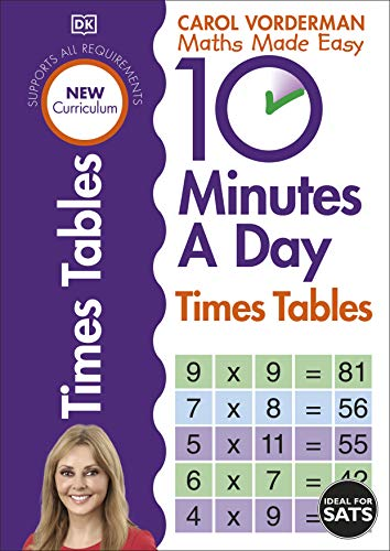 10 Minutes A Day Times Tables (Made Easy Workbooks)