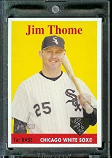 Best jim thome topps rookie card Reviews
