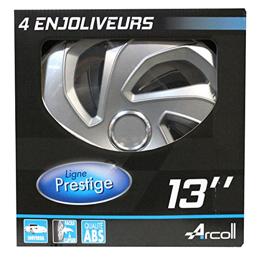 Arcoll 54032 4 Enjoliveurs Rex Ring, Set de 4