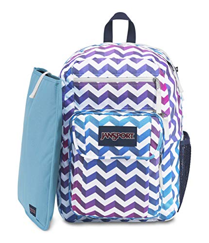 JanSport Digital Student Laptop Backpack, Shadow Chevron