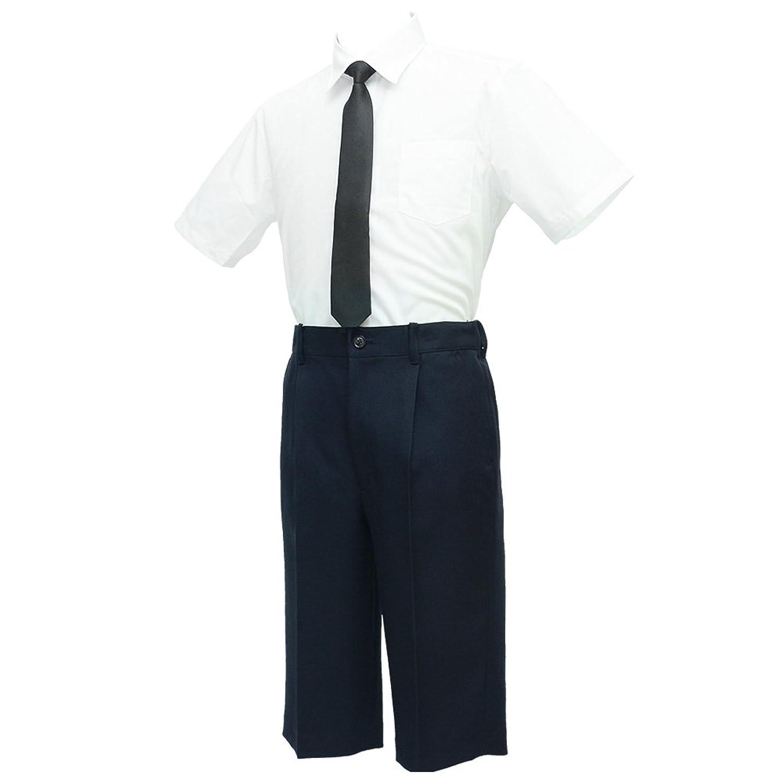 ショパン(CHOPIN) 8833-5601-set 男の子フォーマル2点セット(半袖シャツ/ハーフパンツ) 140 150 160cm