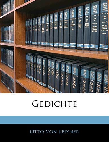 Von Leixner, O: Gedichte