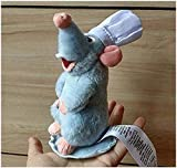 iantuiwangl Authentic Ratatouille Chef Remy Magnetic Shoulder Plush Toy New SJBNB