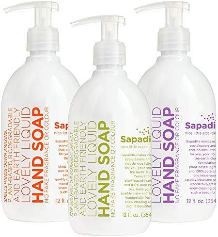 25% off Sapadilla Biodegradable Soaps & Cleansers