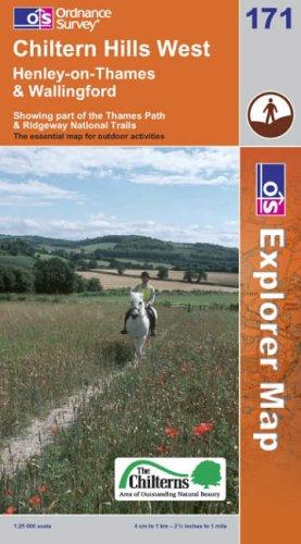 OS Explorer map 171 : Chiltern Hills West