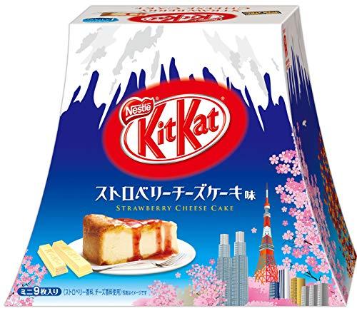 Japanese Kit Kat Strawberry Cheeze Cake Box 4.2oz