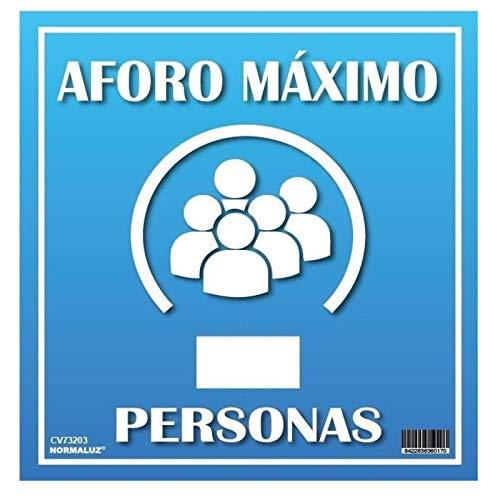 Confezione da 10 cartelli di sicurezza per 19 Commerci, Ristoranti + 1 gratis adesivo CoVID Free 21 cm