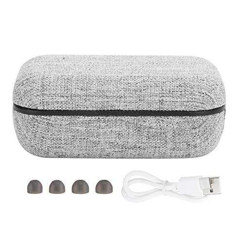 Auriculares inalámbricos auténticos con Bluetooth 5.0, Auriculares Deportivos intrauditivos TWS, Tapones para los oídos binaurales con Pantalla Digital Mini Deportiva, reducción de Ruido Dual DSP con