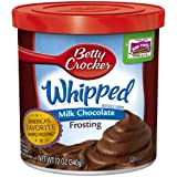 Betty Crocker Milk Chocolate Frosting - 12oz, Light Brown (Pack of 2)