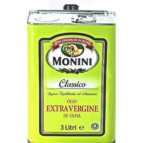 イタリア産エクストラヴァージンオリーブオイル【モニーニ】3L 業務用