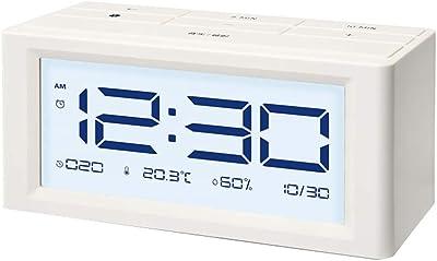 Despertador LITING_Wang Reloj pequeño Reloj Multifuncional Reloj de cabecera Reloj silenciado Reloj Digital Simple Moderno
