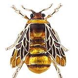 Goodplan Fille Bohème Abeille Broche Épingle Animal Insectes Vêtements Chapeau Décor...
