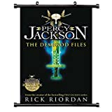 Percy Jackson and the Olympians: The Demigod Files (Rick Riordan) Fabric Wall Scroll Poster (16' x 25') Inches