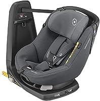 Seggiolino auto isofix girevole a 360° per bambini dalla nascita ai 4 anni, con cuscino riduttore per neonati, omologato secondo la normativa Europea ECE R129 I-Size (45 cm - 105 cm) Girevole a 360°: la seduta ruota per facilitare il posizionamento d...
