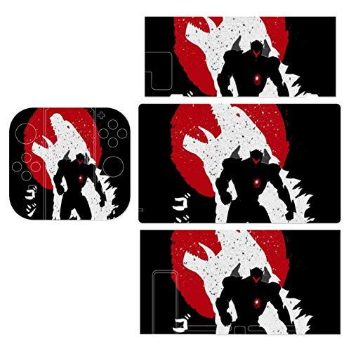 Pacific Rim Vs Godzilla Theme Switch exclusive skin, Nintendo Switch sticker protective film, Switch full device exclusive skin sticker protective film